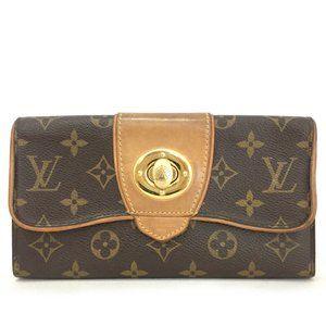 Louis Vuitton Monogram Long Boeshi Wallet/ Clutch